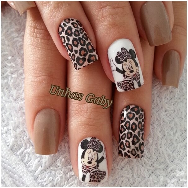 5 Cool Ways To Design Mickey Mouse Nails