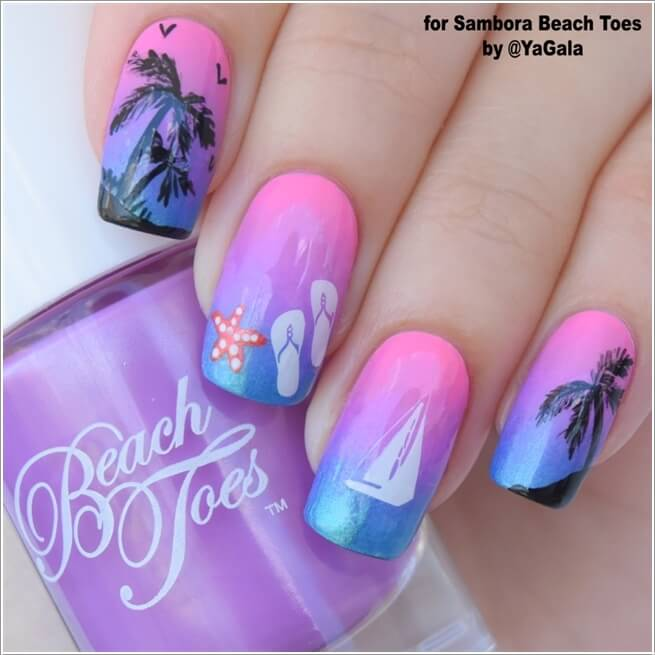 7 Cool Nature Inspired Nail Art Ideas