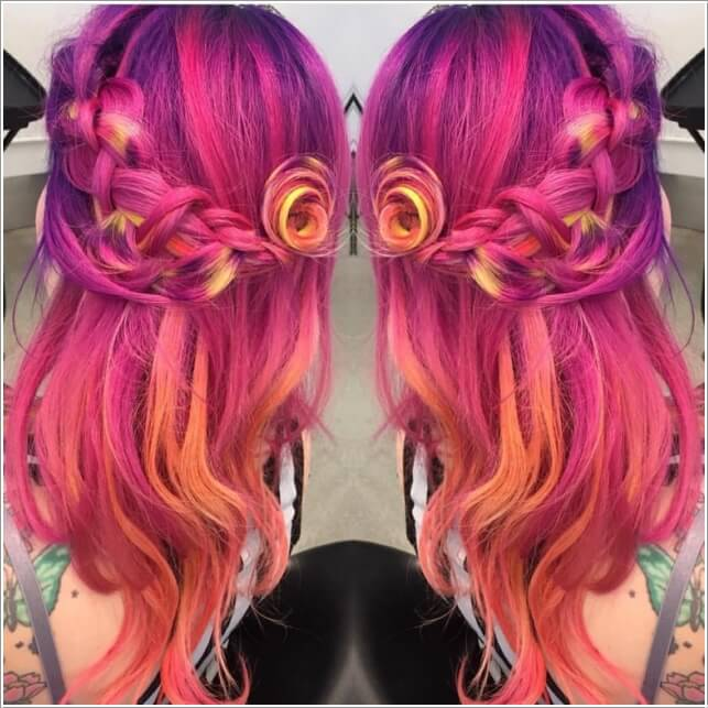 10 Unconventional Hair Color Ideas Youll Love