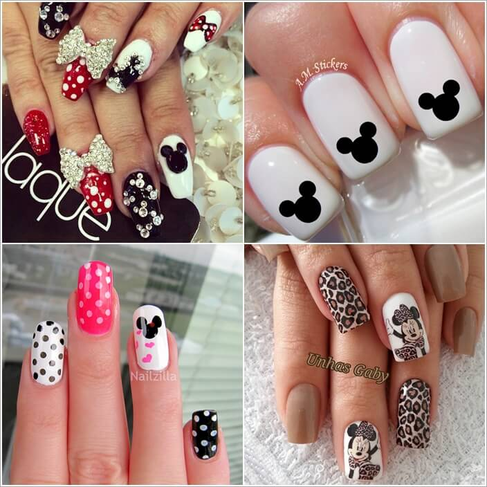 - 5 Cool Ways To Design Mickey Mouse Nails