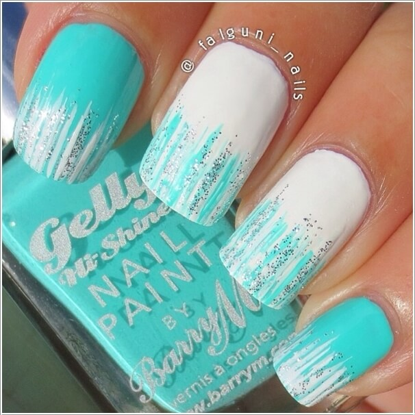 Stylish Board 10 Cool Ways to Design Nails with Glitter Nail Paint