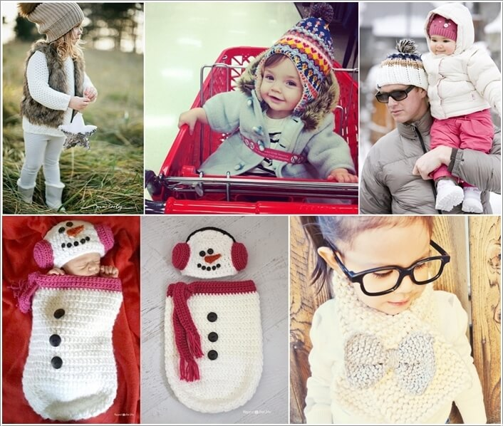 Start Collecting Winter Fashion Items for Your Baby a