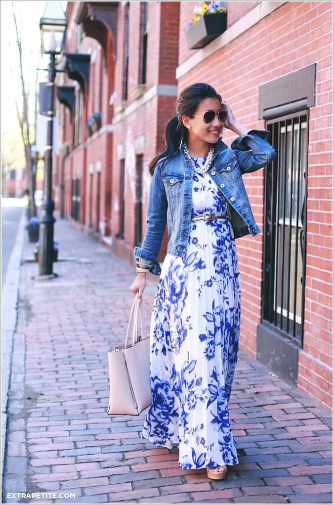 10 Super Stylish White and Blue Dresses 2