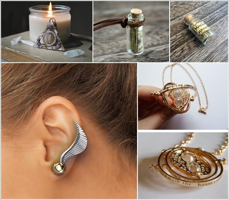 Over 75 Harry potter Inspired Jewelry Pieces 1