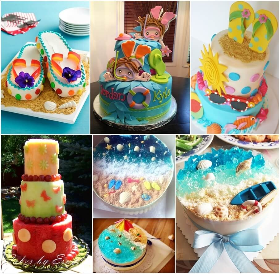 8 Cool Summer Inspired Cake Ideas