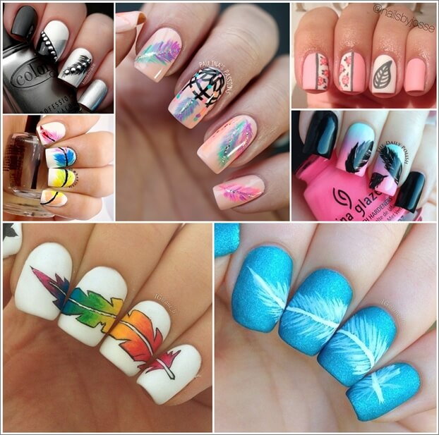 wonderful-feather-nail-art-ideas-for-you-to-try-1