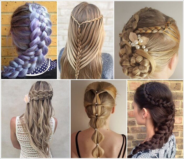 various types of hair styles 75 stunning braided hairstyles for you to try 7746